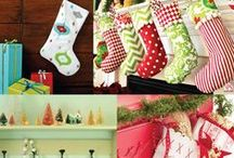 Sew   Yuletide DIY / Be creative for the holidays! DIY Christmas Projects
