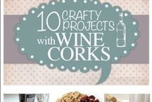Sew   Corky / Upcycle, Recycle, and DIY projects for wine corks.