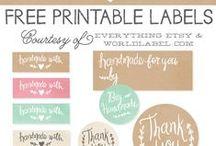 Sew   PRINTABLE / printables for everyday like - kids, home, fun, creative