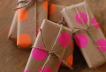 Gift Ideas/Gift Wrapping & Parties / by Beth Farmer