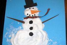 Lesson Ideas-Winter Projects / by Rachel Doty Walker