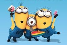 Minions. / Coz they're amaziing :]