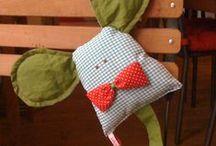 Bichinhos artesanais / Bichinhos feitos em tecido