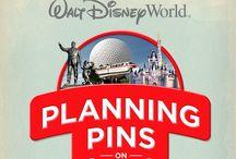 Walt Disney World Planning Pins / by Nati