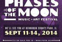 Phases of the Moon Music Festival / Some of the cool & unusual goodies that you will find in the Sunshine Daydream booth at Phases of the Moon Festival. Look for us in the main concert field area. / by Sunshine Daydream Hippie Record Shop