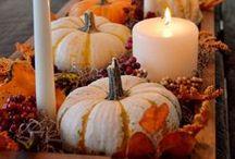 Eluxcubrations - Autumn flavors / Idées cuisine, déco, inspirations aux couleurs automnales pour Halloween et Thanksgiving.