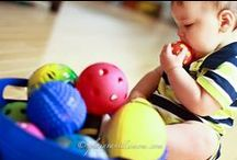Toddler Activities / Engaging activities for toddlers that stimulate fine motor skills and keep them busy for hours!  / by Sisters to Sons