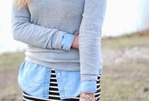 Chambray Love / Creative ways to use a chambray top to expand your wardrobe. / by Sisters to Sons