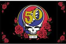 Grateful Dead 50th Anniversary  Merchandise / Grateful Dead 50th Anniversary Merchandise available from Sunshine Daydream Hippie Shop. / by Sunshine Daydream Hippie Record Shop