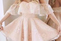 šaty / různé druhy oblečení