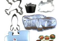 Cars and trucks and things that go / Rockets, tractors, cars, trucks, helicopters, motorbikes, all those transport cookie cutters for baking your favorite cookie recipe.