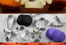 Halloween Partyware and Cookie Cutters