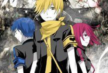 Durarara / Anime basiert auf Freundschaft und Gangs mit auseinander Setzungen ab 12 Jahren