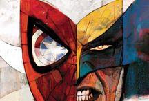 Superhero / Contains super hero pics from dc, marvel etc.,