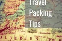 Travel Packing Tips / Tips and tricks to get the most out of your luggage.
