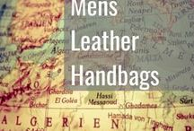 Men's Leather Bags / Leather Bags for Men