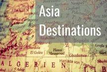Asia Destinations / Asia Travel Destinations