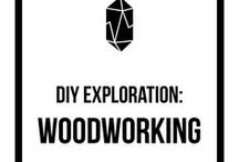 DIY Exploration: Woodworking / woodworking tips, woodworking inspiration, handmade, creative, DIY, monthly challenge, inspiration, community, exploration, wood, build, builder, wood cutting, saw, woodworking techniques, wall hanging, shelves, furniture