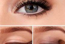 Wedding make up / Natural, smoky and glowing eye make-up