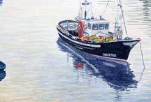 Barcos Pesqueros / Los grandes luchadores del mar