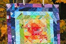 Rainbow Quilts / ah yes! Rainbows! / by A Quilter's Table
