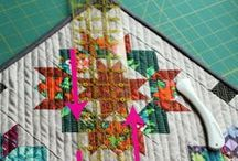 fmq + wf etc. / Free-motion and walking-foot quilting patterns . . . inspiration for sure!