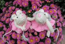 My creations / I'm a creative person: I crochet, knit, felt, quilt, sew, decorate, make dolls, play with clay, paint, draw and more.