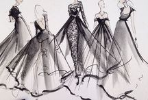 Sketches / I love fashion! Sketches are the beginning of that beauty.