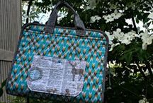 Bags / Gift bags, tote bags, etc. etc. etc. / by A Quilter's Table