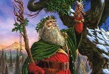 Yuletide/ Winter Solstice / Yuletide, the Winter Solstice, and the sabbat of Yule / by Ellen Dugan