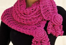 Crochet Scarfs, Shawls and Shrugs / by April Conner