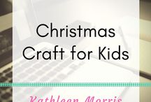Christmas Craft Ideas for Kids / Arty idea to celebrate Christmas with young children