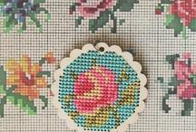 Cross stitch & embroidery / by Erin Laracy