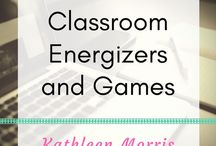 Classroom Energisers/Games / Easy ways to warm up or have fun in the classroom