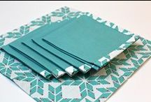 Cloth Napkins / We kinda love cloth napkins at our house! / by A Quilter's Table