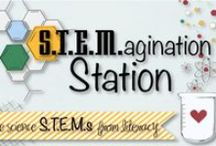 STEMagination Station / Ideas and goodies for our weekly STEMagination Station STEM challenges. / by Lindsey Petlak