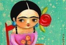 Frida Kahlo / by Nicole de Boer