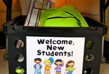 New Kids on the Block / Students moving in mid-year is quite common, and we want to be prepared for new students. See these tips and ideas I've gathered to help your new students feel welcome and make your life easier! **EMAIL ME if you want to JOIN/CONTRIBUTE to this board! petlak.lindsey@gmail.com / by Lindsey Petlak