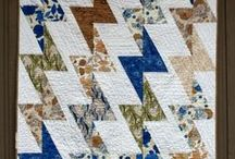 Half-Rectangle Triangles / A good basic block to have in your quilty toolbox. / by A Quilter's Table