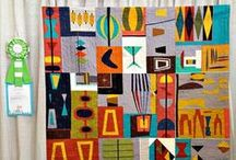 Bee Sewcial Goes Mid-Century / Bee Sewcial Inspiration for June 2015 / by A Quilter's Table