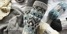 WOOL SOCKS HERITAGE / Ice cold water, temperatures below zero and white snow – that's Nordic winter.  Because of long winter time and chilly summers we have used wool for keep us warm. We are well known especially for our high-skilled and rich wool sock patterns heritage.