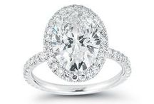 Fancy shapes diamond engagement rings