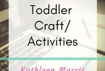 Toddler Craft/Activities / Simple craft ideas for toddlers