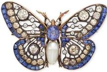 Diamonds in the shape of insects / Butterfly, cicada, beetle and bugs jewelry - from Victorian times until today - nature-inspired insect jewelry is uber-chic!