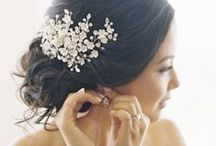 Hair & Jewel / Exquisite diamond jewelry to ornate your hair, bridal hair accessories, wedding headpieces.