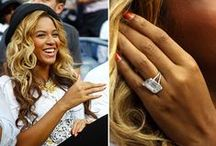 Celebrity Engagement Rings / Celebrities engagement rings sparkle around the world.