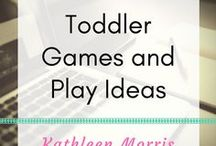 Toddler Games and Play Ideas / Fun activities to do at home for young children