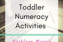 Toddler Numeracy / Hands on ideas to help build toddlers' skills in maths