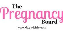 >>The Pregnancy Board<< / A Board about all things Pregnancy and baby from the best mommy bloggers on Pinterest! All mom bloggers are welcome! To join follow board and follow Leigh | A Day with Fé (creator) and email daywithfe@gmail.com to request to join.