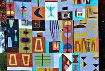 Mid-Century Modern Quilts